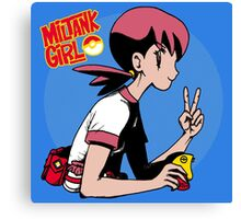 Miltank Girl Canvas Print