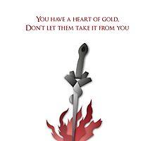 Dark Souls Bonfire Art Photographic Print
