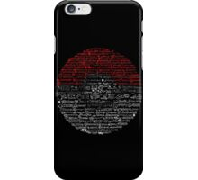 Poké Rap Sketch-Along iPhone Case/Skin
