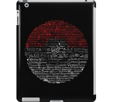 Poké Rap Sketch-Along iPad Case/Skin