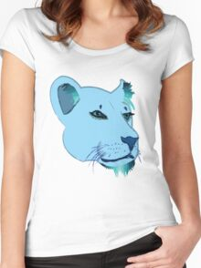 Lion's Game Women's Fitted Scoop T-Shirt