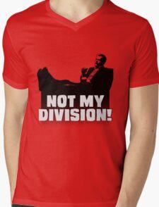 """Not My Division"" Mens V-Neck T-Shirt"