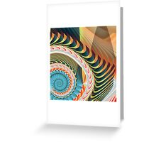 Fractalia Abstracticalia Catus 1 No. 5 L B Greeting Card