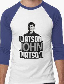 Watson. John Watson. Men's Baseball ¾ T-Shirt