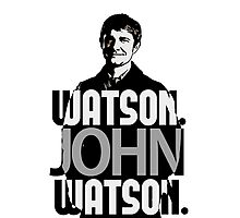 Watson. John Watson. Photographic Print