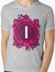 FOR HER - I Mens V-Neck T-Shirt