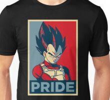 Vegeta -- Saiyan Pride (Obama Hope Poster Parody) Unisex T-Shirt