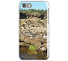 Hill End Stream Log iPhone Case/Skin