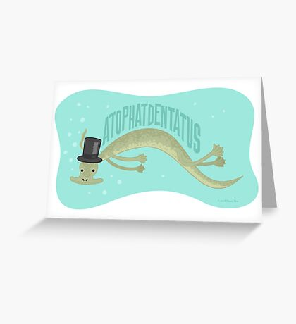 A-top-hat-dentatus Greeting Card