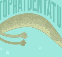 A-top-hat-dentatus Sticker