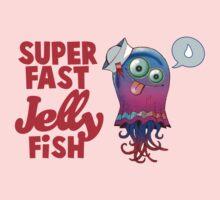 gorillaz jelly fish Kids Tee