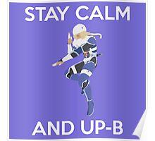 Smash Bros - Stay Calm Sheik Poster