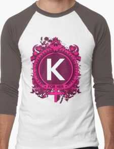 FOR HER - K Men's Baseball ¾ T-Shirt
