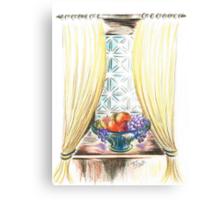 Window of fruit Canvas Print