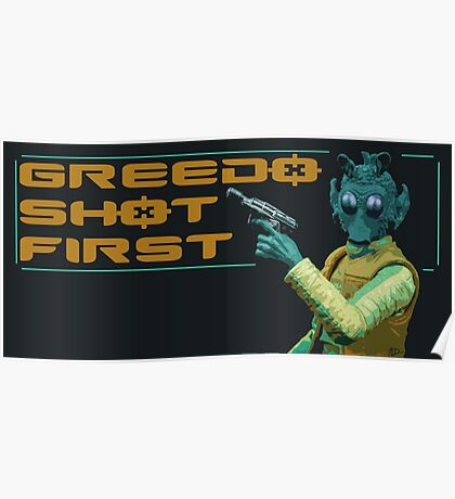GREEDO Poster