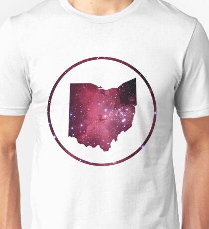 Silhouette the Sky - Beautiful Ohio Unisex T-Shirt