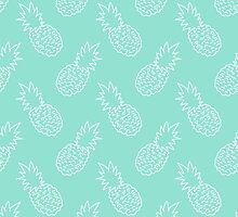 Pineapple Pattern by PatiDesigns