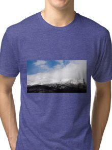 Storm pushing in - Colorado Mountains Tri-blend T-Shirt