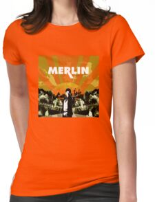 Merlin (Mayday Parade Parody) Womens Fitted T-Shirt