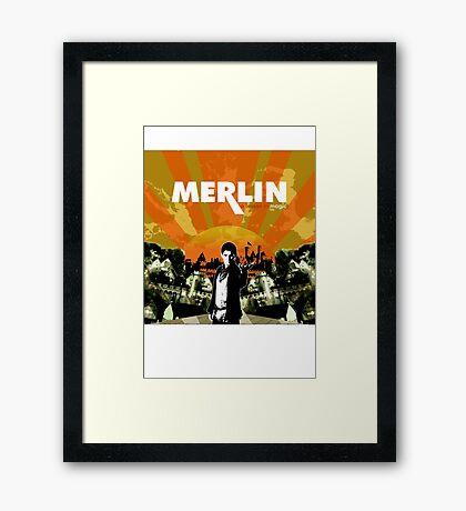 Merlin (Mayday Parade Parody) Framed Print