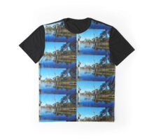 Tranquility On The River Murray Australia Graphic T-Shirt