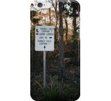 Sign Post in the Australian Bush iPhone Case/Skin