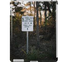 Sign Post in the Australian Bush iPad Case/Skin