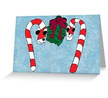 Christmas Under the Mistletoe Greeting Card