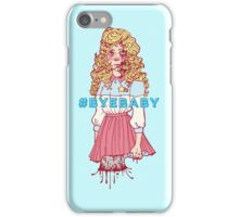 #BYEBABY iPhone Case/Skin