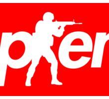 CS:GO Supreme Parody Big Box Logo Sticker