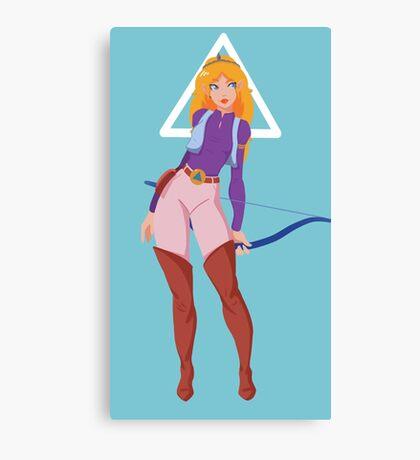 Princess Zelda (TV Series) Canvas Print