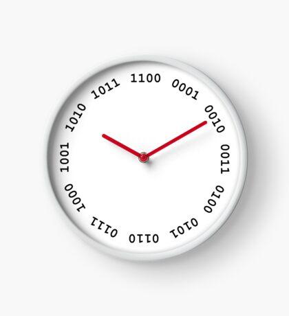 Binary clock Clock