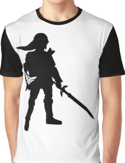 The Legend of Zelda Link Silhouette Graphic T-Shirt