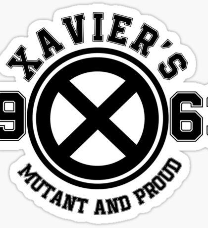 Xavier's College Graphic Sticker