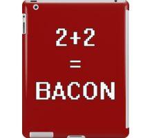 Math Bacon iPad Case/Skin