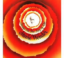 Stevie Wonder Songs in the key of life Photographic Print