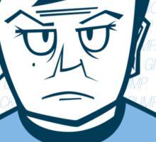 Grumpy Bones Sticker
