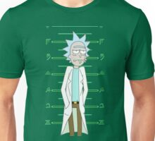 Rick Sanchez Mugshot Unisex T-Shirt
