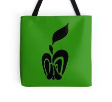Butterfly Apple Tote Bag