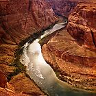 Around the Bend and Through the Canyon Walls by Lucinda Walter
