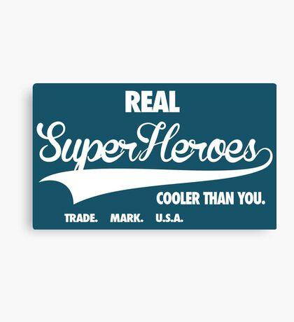 Superhero Superdry Canvas Print