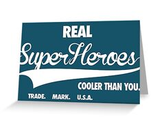 Superhero Superdry Greeting Card