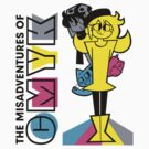 The Misadventures of CMYK by Chris Maghintay