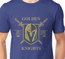 Golden Emblem vegas sports shirt knight T shirt Unisex T-Shirt