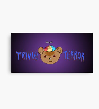 Trivial Terror Podcast Canvas Print