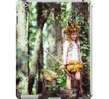 Child Forest Portrait iPad Case/Skin