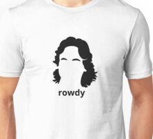 """Rowdy"" Roddy Piper Tribute (in BLACK) Unisex T-Shirt"
