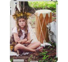 Child Forest Portrait 4 iPad Case/Skin