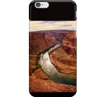 Around the Bend and Through the Canyon Walls iPhone Case/Skin