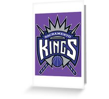 the kings Greeting Card